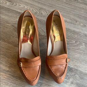 Michael Kors Heel - Tan Leather - Size 7.5